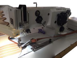 Máquina de coser en zig-zag