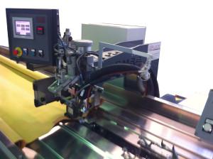 Maquina de cabezal móvil de soldar acrílico por calor